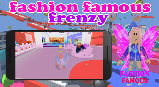Fashion Famous Frenzy Dress Up Runway Show obby apklade screenshots 2