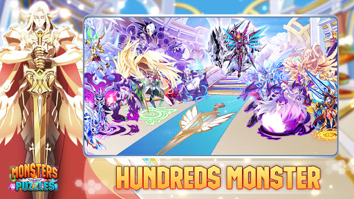 Monsters & Puzzles: Battle of God, New Match 3 RPG screenshots 3
