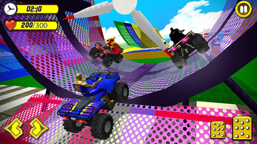 ATV Quads Superheroes Stunts Racing screenshots 20