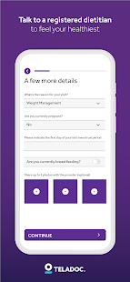 Teladoc | Online Doctors, Therapy & Nutrition 4.7 Screenshots 8