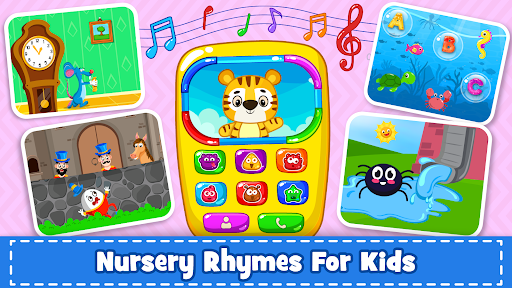 Baby Phone for toddlers - Numbers, Animals & Music  screenshots 6
