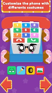 Baby Carphone Toy. Kids game Mod Apk app for Android 5