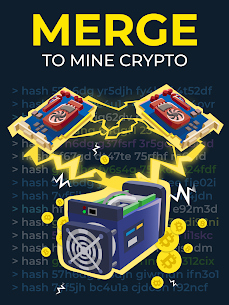 The Crypto Merge Mod Apk- bitcoin mining simulator (Unlimited Money) 7