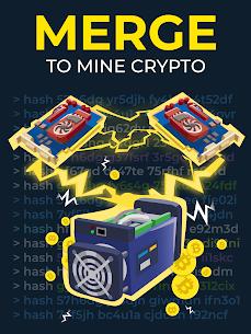 The Crypto Merge Mod Apk- bitcoin mining simulator (Unlimited Money) 7