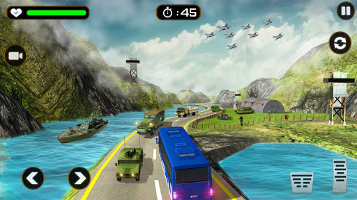 us army truck driving simulation games: truck game screenshot 1