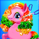 Rainbow Pony Horse Makeover: Pet Grooming Salon. - Androidアプリ