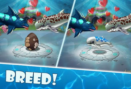 Shark World Mod Apk (Gold/Diamonds) 3