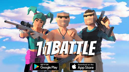 1v1Battle - Build Fight Simulator apkpoly screenshots 9
