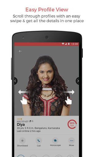 tyagi matrimony - tyagi marriage & wedding app screenshot 3