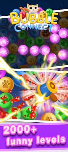 Bubble Connect - bubble match and puzzle game  screenshots 4