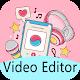 Cool Lyric Photo Video Maker With Music für PC Windows