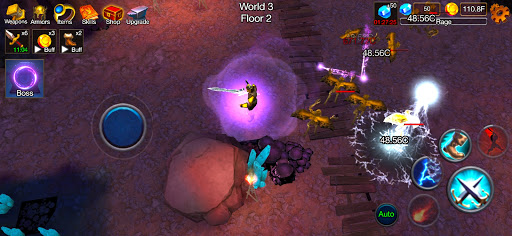 Dungeon Clash - 3D Idle RPG | Offline AFK Crawler apklade screenshots 1