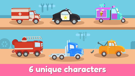 Car City Heroes: Rescue Trucks Preschool Adventure  screenshots 2