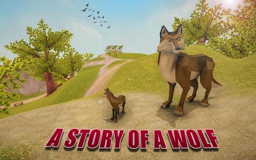 the wolf simulator 3d: animal family tales screenshot 1