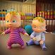 リアル 母 シミュレーター 3D 新着 生まれ ツイン 赤ちゃん ゲーム