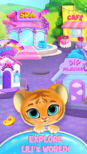 Baby Tiger Care - My Cute Virtual Pet Friend modavailable screenshots 5