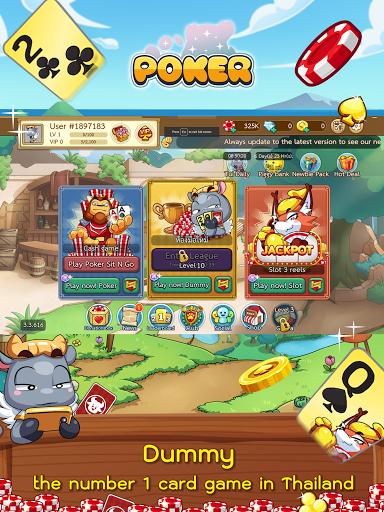 Dummy & Toon Poker Texas slot Online Card Game  Screenshots 9