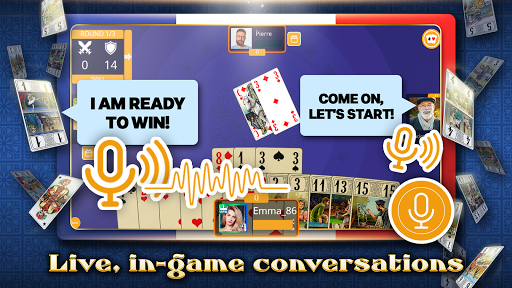 VIP Tarot - Free French Tarot Online Card Game screenshots 8