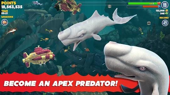 Hungry Shark Evolution MOD APK 8.7.6 [Unlimited Money/Gems] Latest Version Download 4