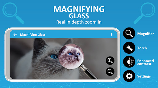 Magnifier /Text Magnifier/Digital Magnifying Glass android2mod screenshots 2