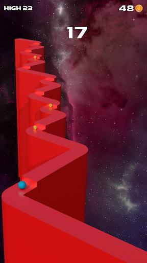zigzag jump ball 2020 : big jump game screenshot 1