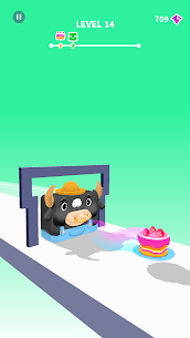 Jelly Shift Mod Apk- Obstacle Course Game (God Mode) 3