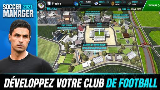Soccer Manager 2021 - Jeu de Gestion de Football APK MOD (Astuce) screenshots 3