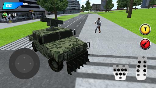 x ray robot : zombie offroad screenshot 3