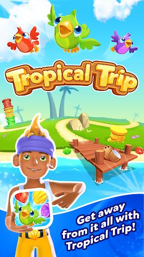 Tropical Trip - Match 3 Game  screenshots 12