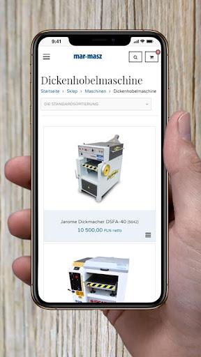 mar-masz holzbearbeitungsmaschinen screenshot 3