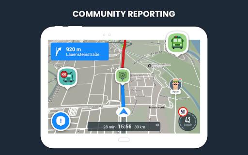RoadLords - Free Truck GPS Navigation android2mod screenshots 9