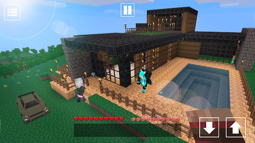 Cube Craft: Free World Exploration 1.3.7 Screenshots 1