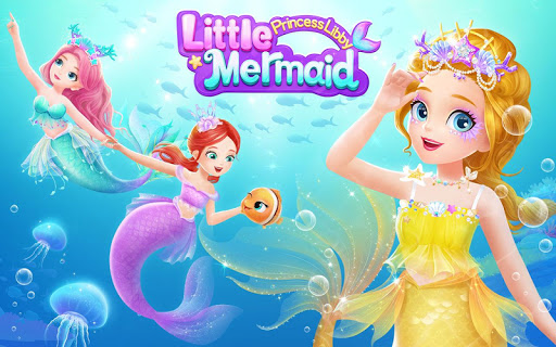 Princess Libby Little Mermaid android2mod screenshots 6