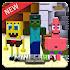 Sponge Bob Minecraft - Bikini Bottom MCPE Mods