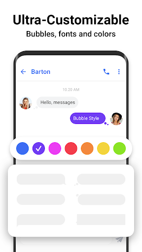 Messages - Messenger for SMS App android2mod screenshots 3