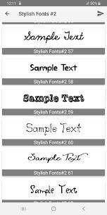 Stylish Fonts #2 1.16 Latest MOD Updated 3