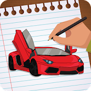 How to Draw : Sports Cars, Ambulance, Humans
