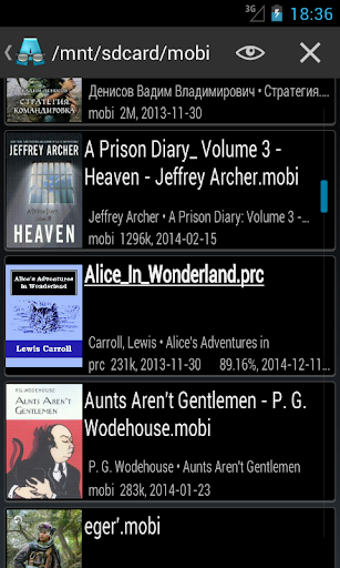 AlReader -any text book reader 1.931910300 Screenshots 6