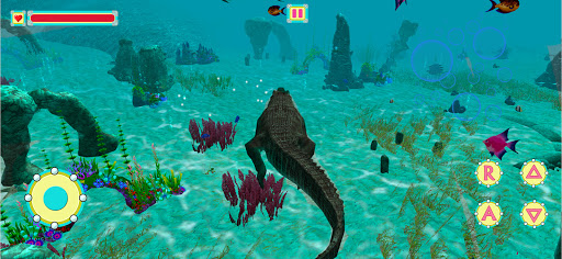 Underwater Crocodile Simulator u2013 Crocodile Games 1.3 screenshots 15
