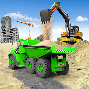 Heavy Construction Simulator Game: Excavator Games