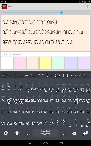 Balinese Keyboard font plugin For PC Windows (7, 8, 10, 10X) & Mac Computer Image Number- 5