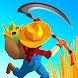 収穫しましょう!自身の農場を管理