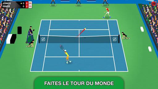Télécharger gratuit Stick Tennis Tour APK MOD 1