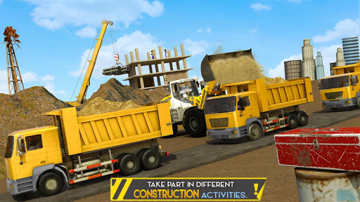 Stickman City Construction Excavator 1.5 screenshots 2