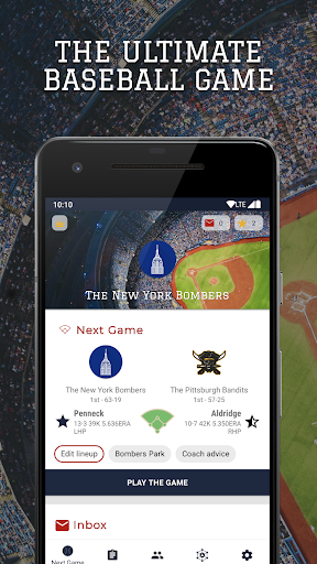 Télécharger Astonishing Baseball Manager 2019 APK MOD (Astuce) screenshots 1