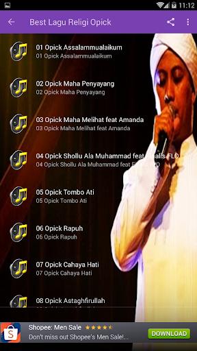 Lagu Opick Offline  screenshots 3