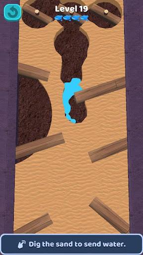 Sand Water : Fairy Garden apkpoly screenshots 2