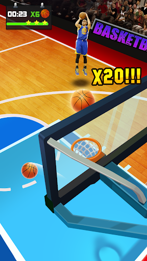 Basketball Tournament - Free Throw Game 1.2.2 Screenshots 3