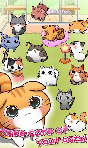 Cat Room - Cute Cat Games 3.0.8 Screenshots 2