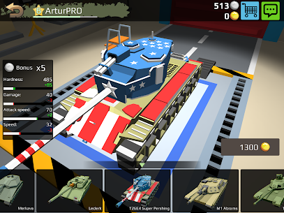 World Of Cartoon Tanks Hack for iOS and Android 2